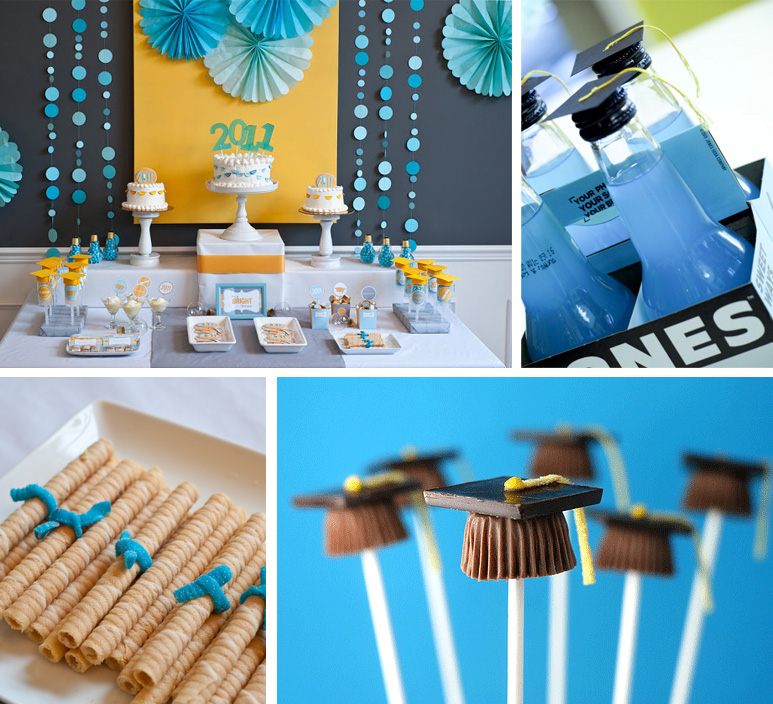 Graduation Party Ideas & Invitations To Match